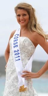 Camille Mallea (Miss Corse 2011)