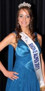 Cindy Saroul (Miss Rhônes-Alpes 2011)