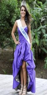 Célia Guermoudj (Miss Midi-Pyrénnées 2012)