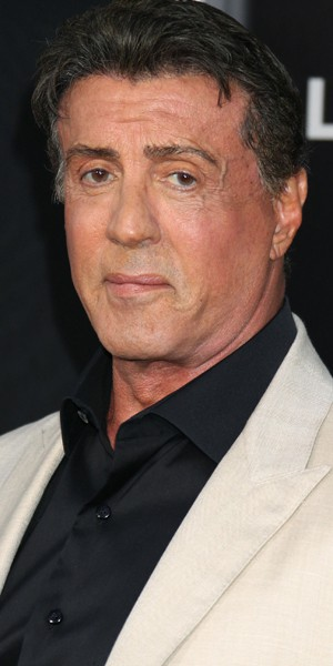 Sylvester Stallone met...