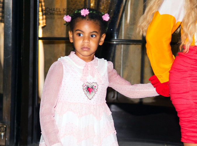 Blue Ivy : À cinq ans, la fille de Beyoncé va avoir sa marque de cosmétiques !