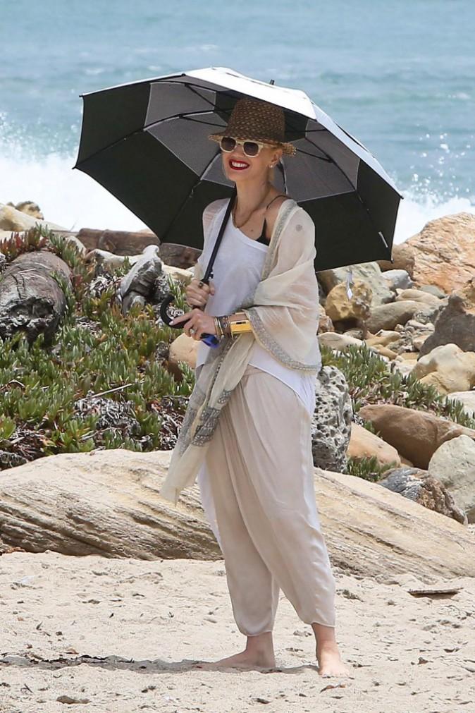 Gwen Stefani : le soleil ? très peu pour elle !