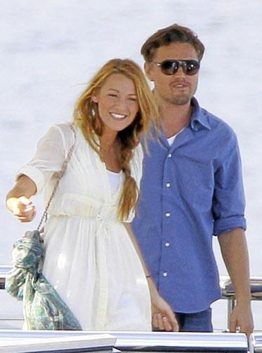 Leonardo DiCaprio et Blake Lively