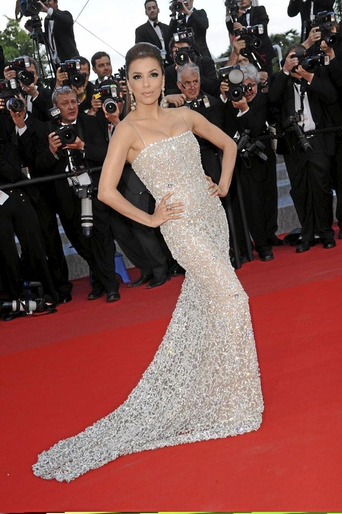 Festival de Cannes 2010 : la robe Naeem Khan d'Eva Longoria