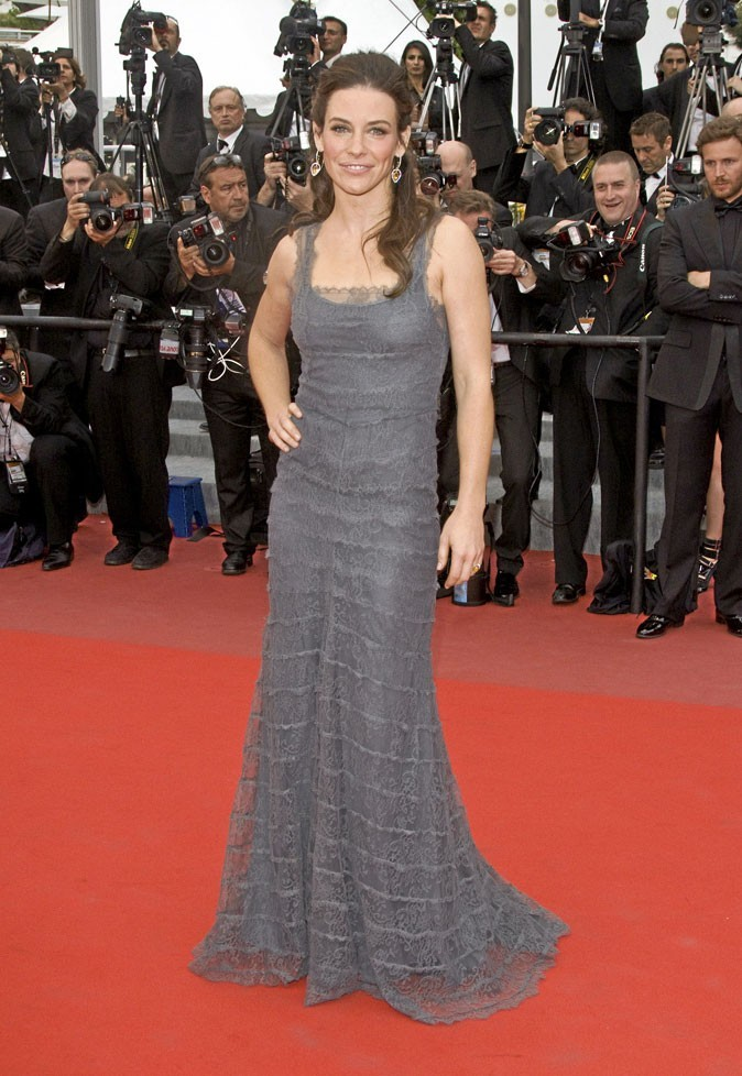 Festival de Cannes 2010 : la robe Valentino d'Evangeline Lilly