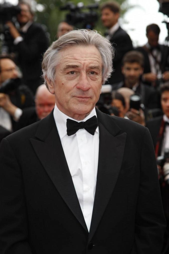 Robert De Niro sur le tapis rouge du Festival de Cannes, le 11 mai 2011.