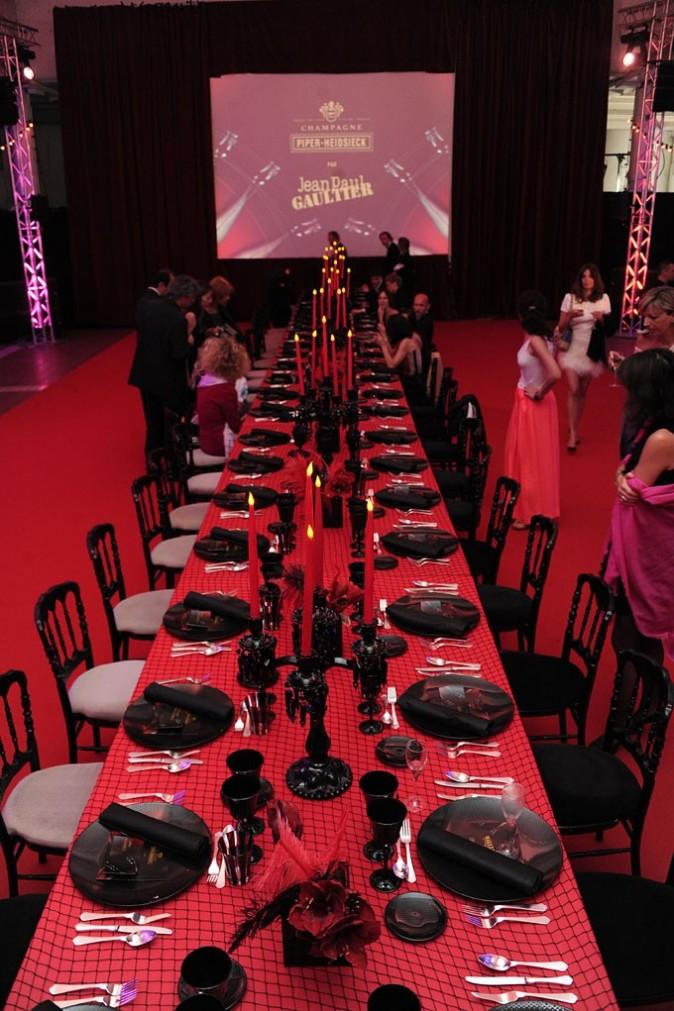 Cannes 2011 : avant de prendre place pour le dîner !