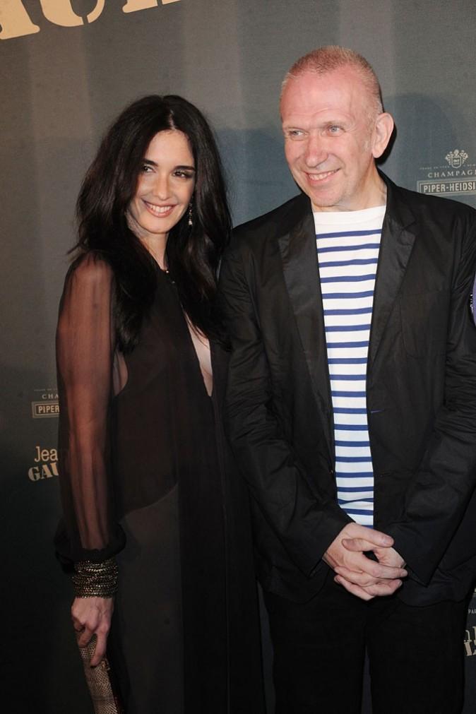 Cannes 2011 : Jean-Paul Gautier et Paz Vega posent ensemble !