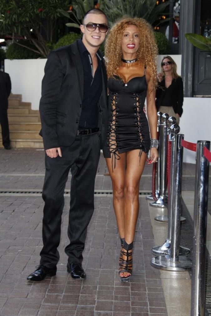 Afida Turner lors du Festival de Cannes, le 15 mai 2011.