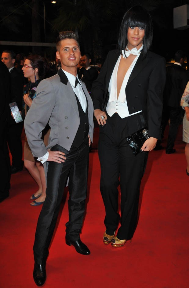 Benoît et Thomas à Cannes hier soir !