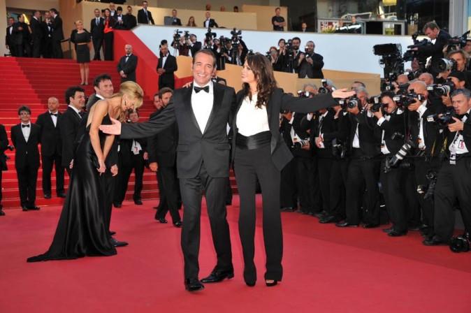 Avec son complice Jean Dujardin !