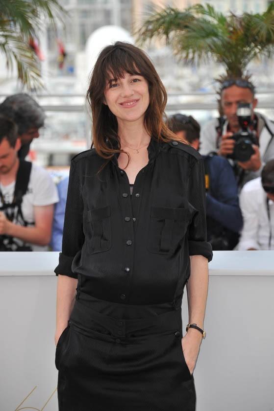 Charlotte Gainsbourg lors du photocall du film Melancholia à Cannes, le 18 mai 2011.