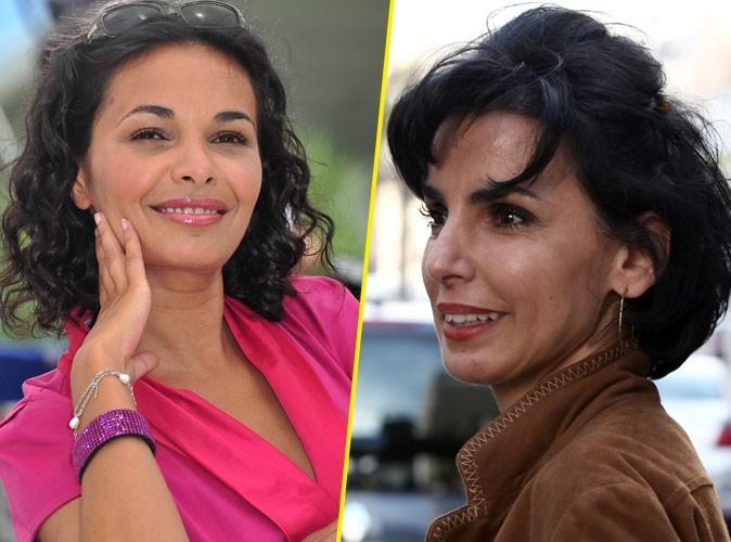 Saida Jawad dans le rôle de Rachida Dati