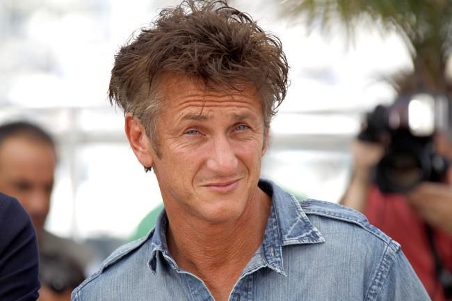 Robert Smith des Cure? Non Sean Penn...