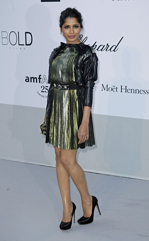 Freida Pinto sublime en Lanvin !