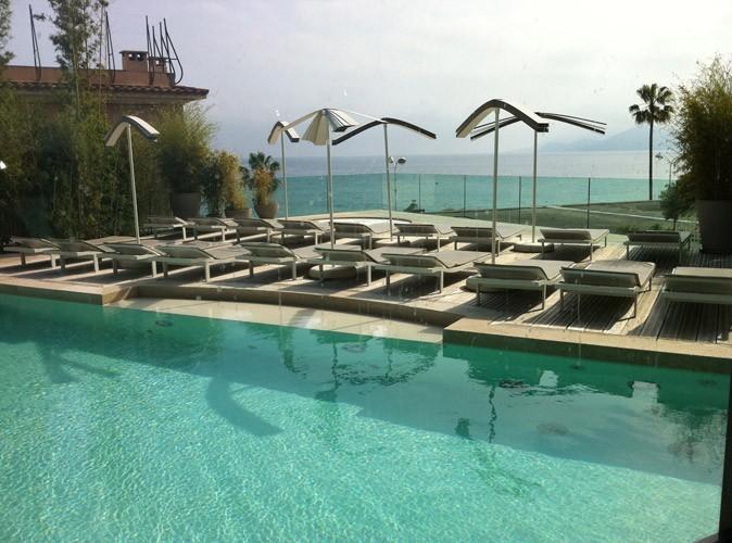 Cannes 2011 : le temps est maussade, mais la piscine elle est superbe !