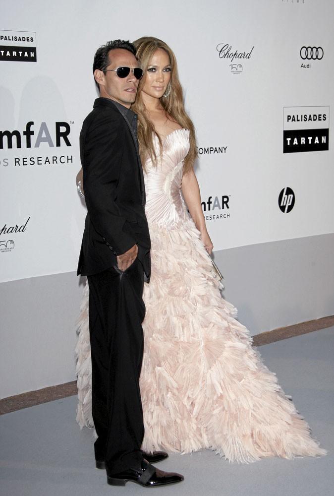 Cannes 2010 : le couple de stars Jennifer Lopez et Marc Anthony