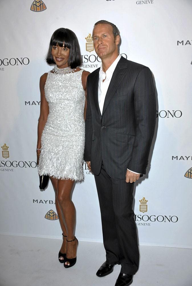 Cannes 2010 : le couple de stars Naomi Campbell et Vladimir Doronin