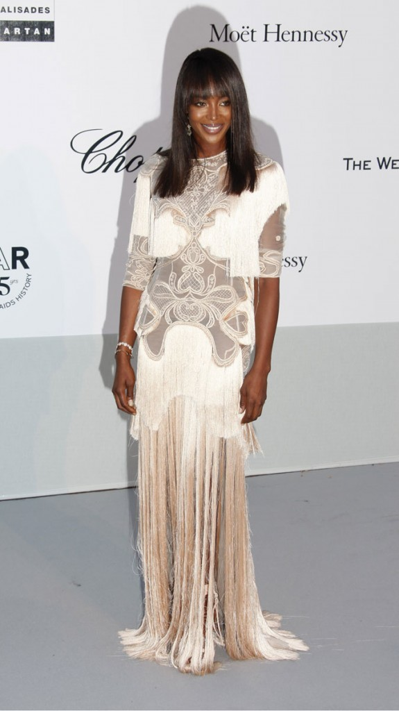 Cannes 2011 : Gala de l'AmfAR : Naomi Cambell