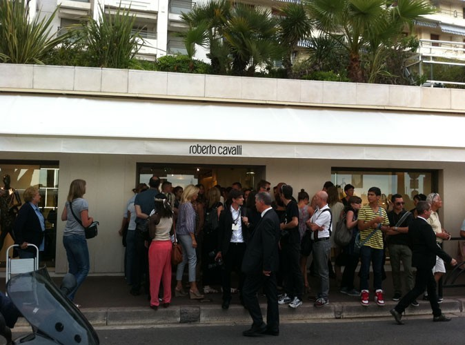 Photos : Cannes 2011 : la nouvelle boutique Roberto Cavalli à Cannes