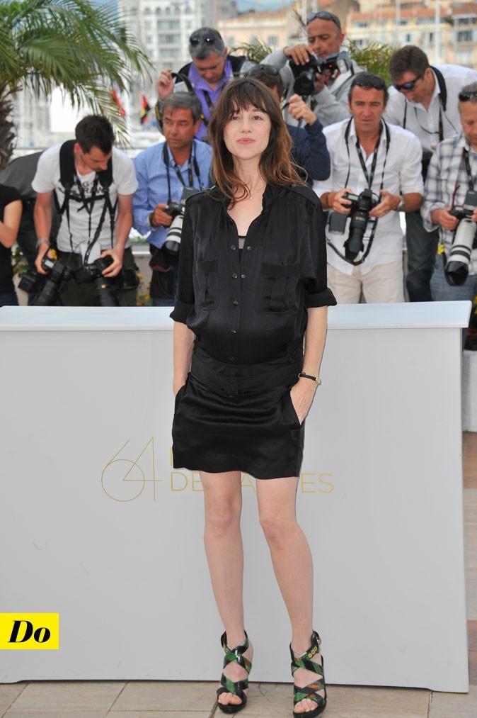 Festival de Cannes 2011 : la combishort de Charlotte Gainsbourg enceinte