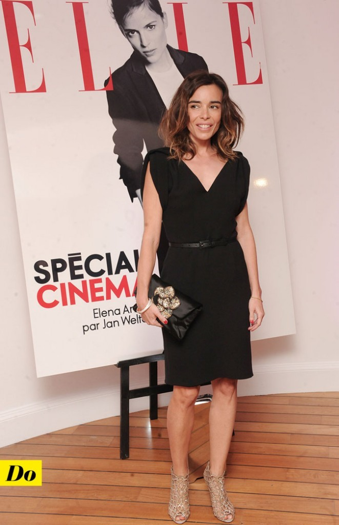 Festival de Cannes 2011 : la petite robe noire d'Elodie Bouchez