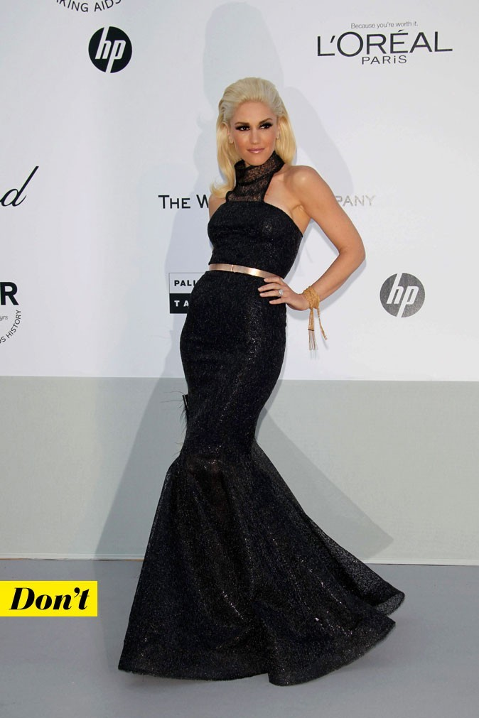 Festival de Cannes 2011 : la robe longue LAMB de Gwen Stefani