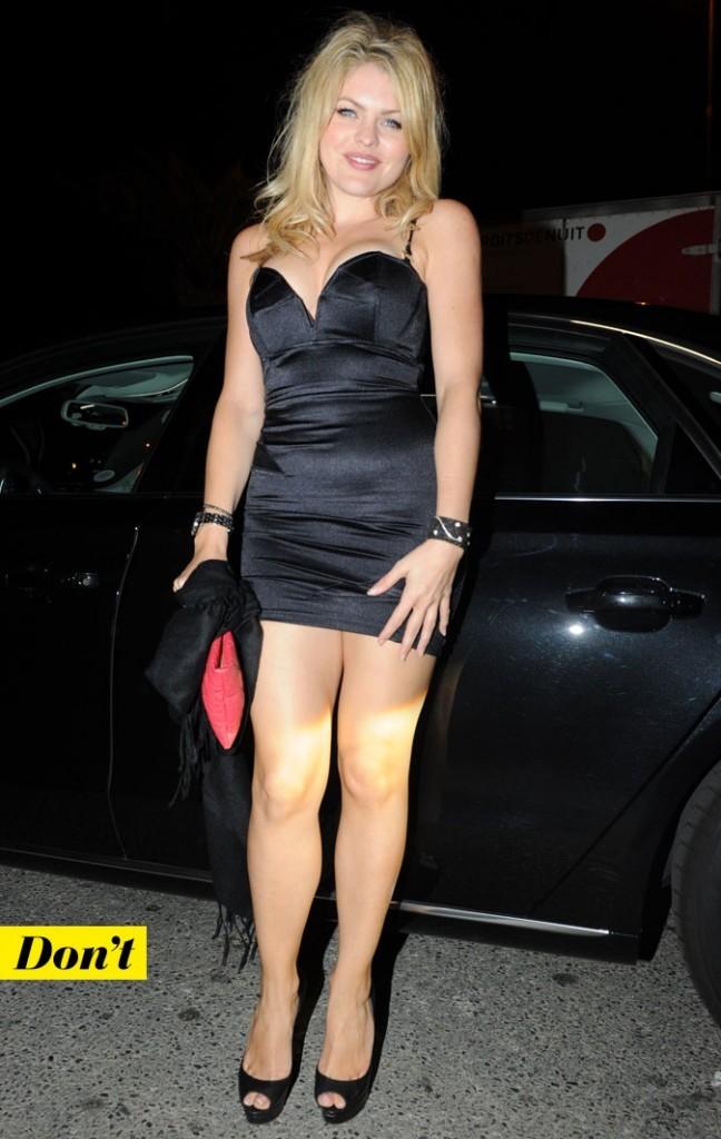 Festival de Cannes 2011 : le look petite robe noire de Célyne Durand