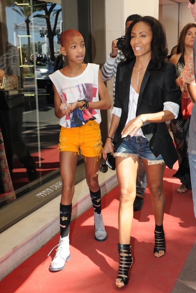 Jada Pinkett Smith et sa fille Willow