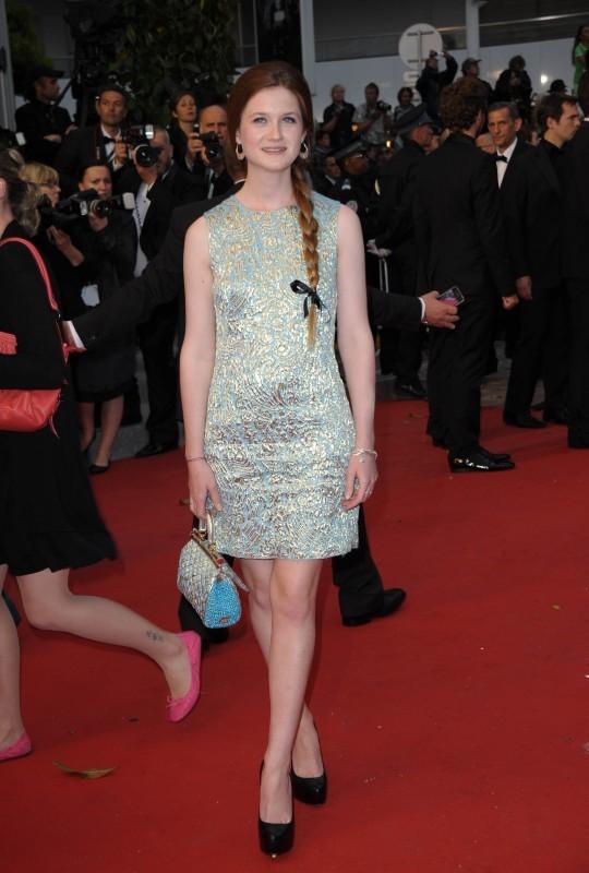 Bonnie Wright en Docle & Gabbana (vendredi 25 mai)