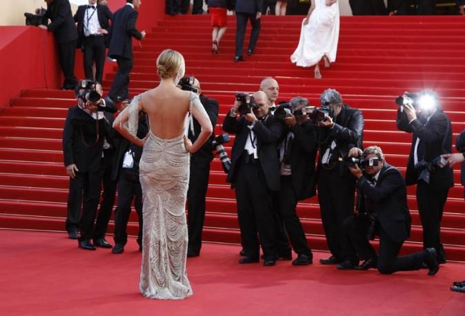 Heidi Klum pour la montée des marches de The Paperboy