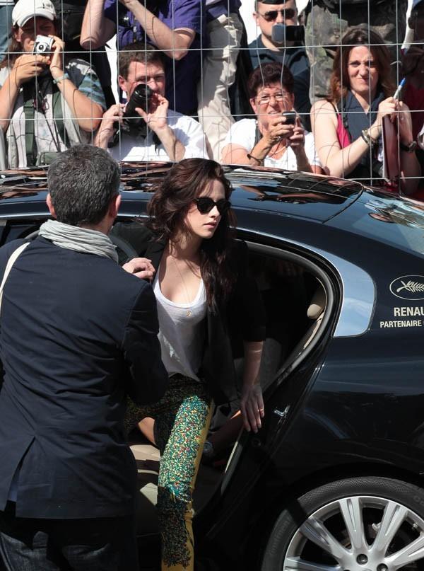 Kristen Stewart au photocall de Sur la Route au Festival de Cannes 2012