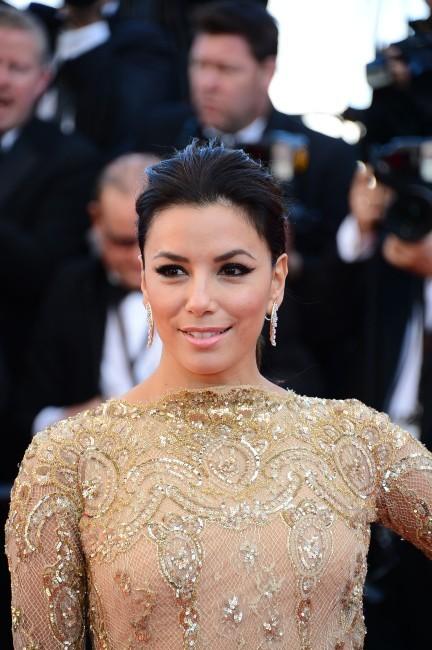 Eva Longoria, Cannes – Tapis rouge du film Le Passé, 17 mai 2013