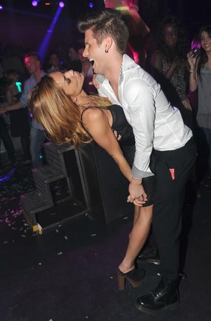 Benoît et Candice en pleine danse endiablée !