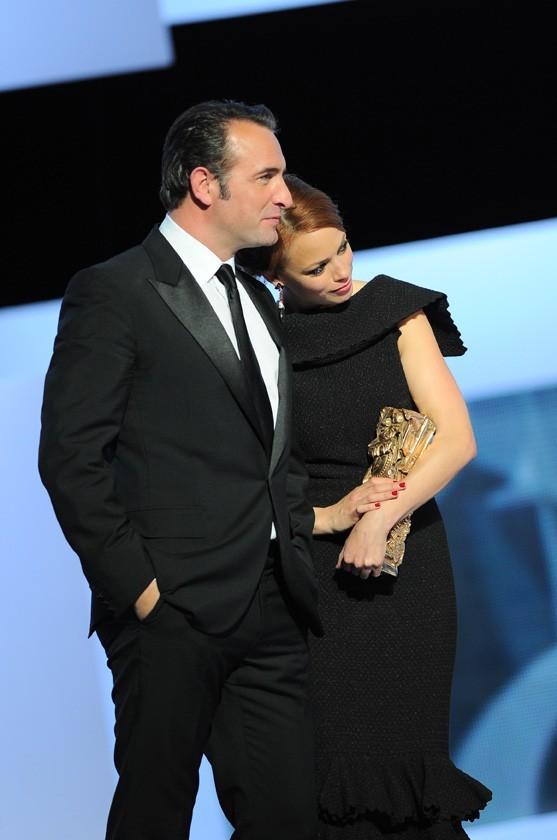 Moment d'émotion avec Jean Dujardin