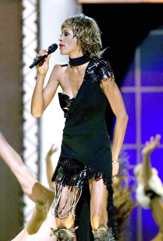 Septembre 2001 : Whitney Houston à Los Angeles