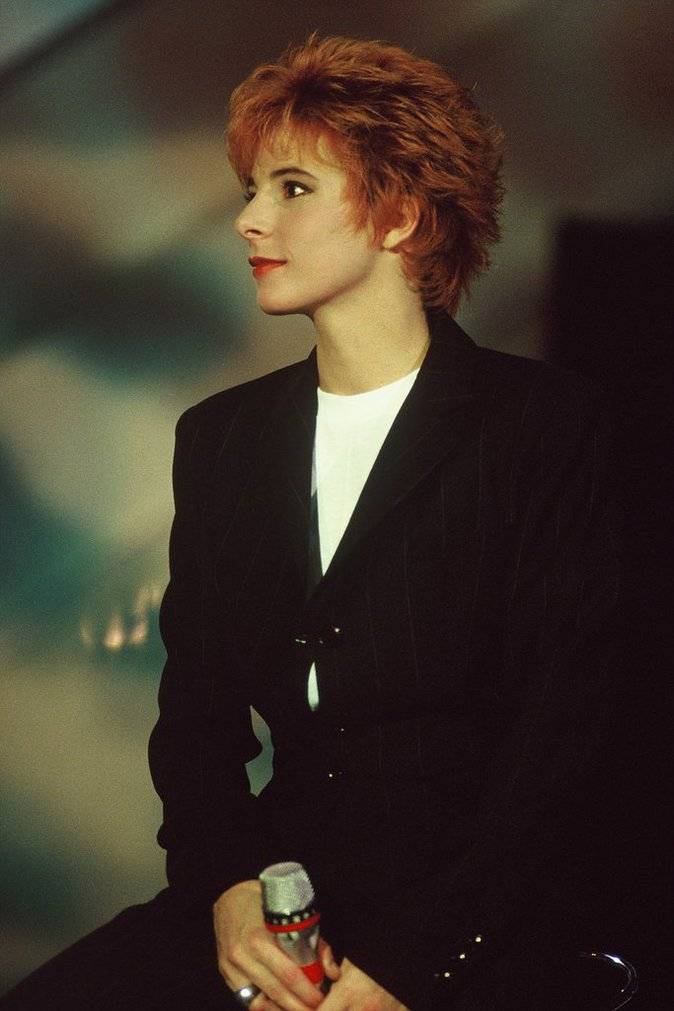 Mylène Farmer en 1991