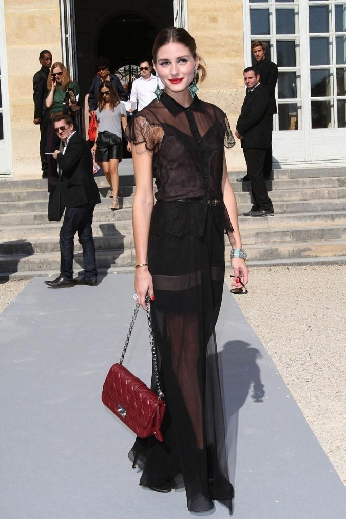 Défilé Dior : Olivia Palermo