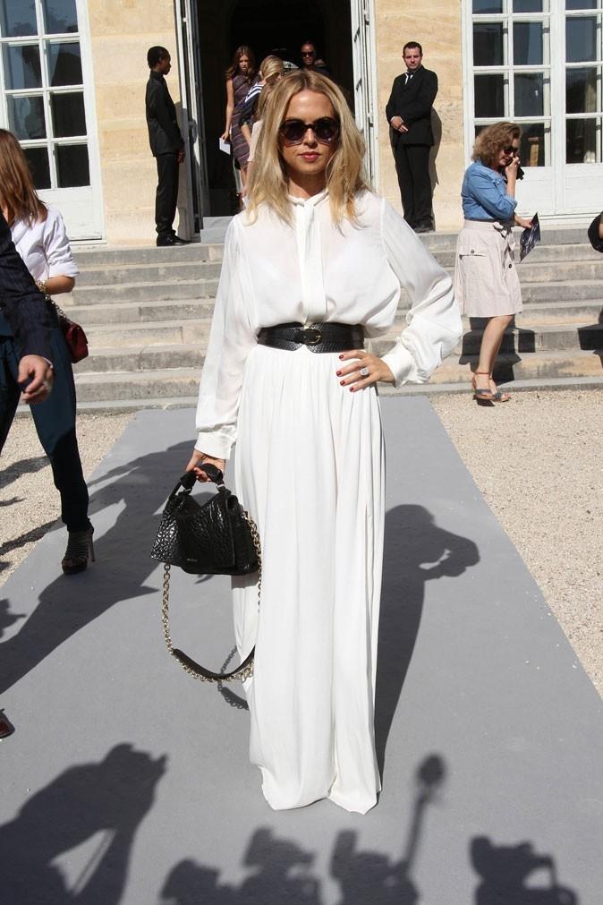 Défilé Dior : Rachel Zoe