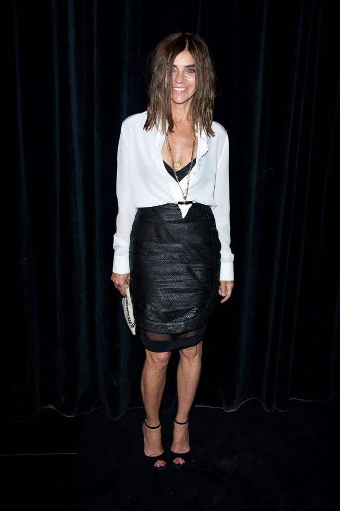 Défilé Givenchy : Carine Roitfeld