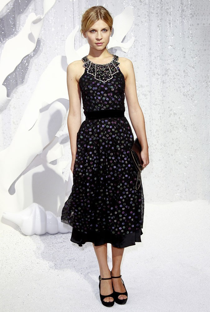 Défilé Chanel : Clémence Poésy