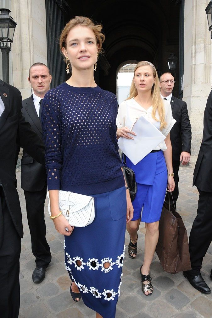 Défilé Louis Vuitton : Natalia Vodianova
