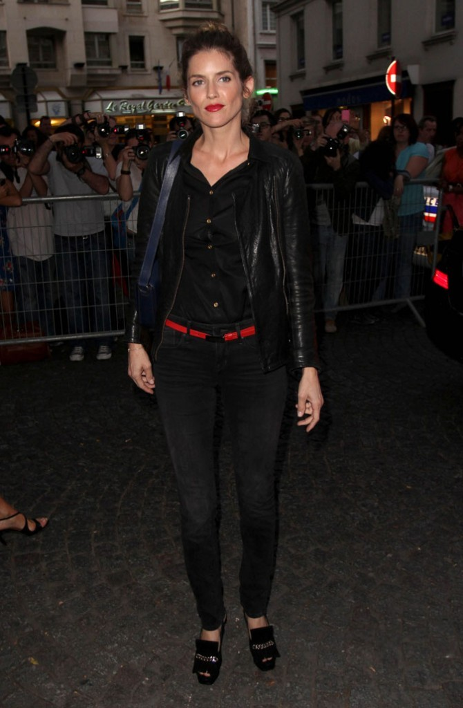 Défilé Yves Saint Laurent : Alice Taglioni