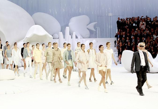Défilé Chanel printemps été 2012