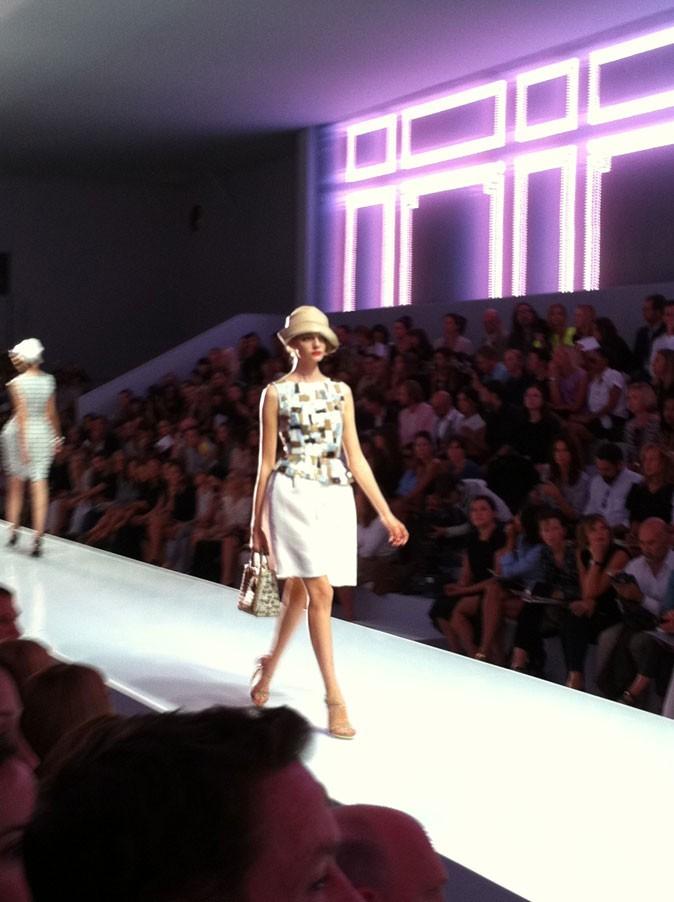 Défilé Dior été 2012
