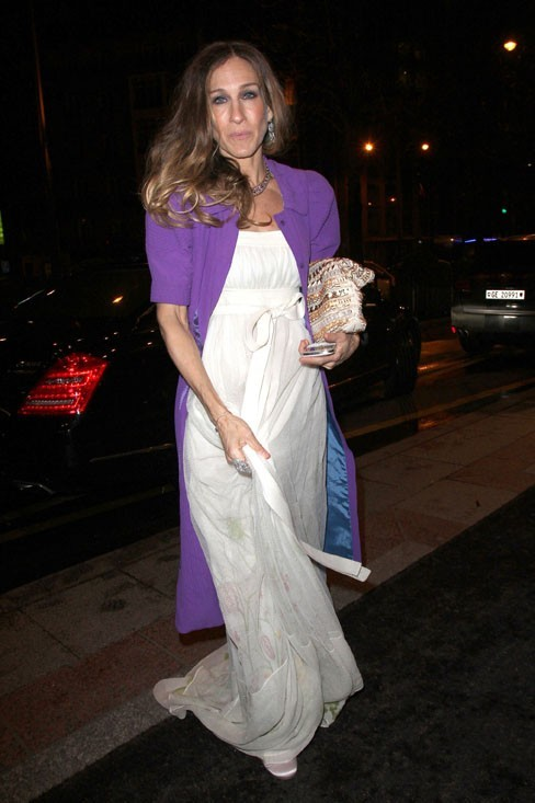 Sarah Jessica Parker à la soirée Louis Vuitton