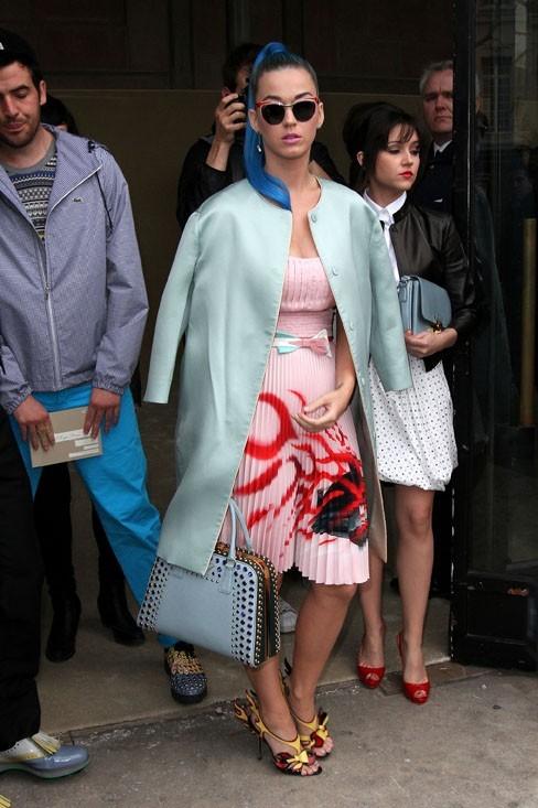 Katy Perry au défilé Miu Miu