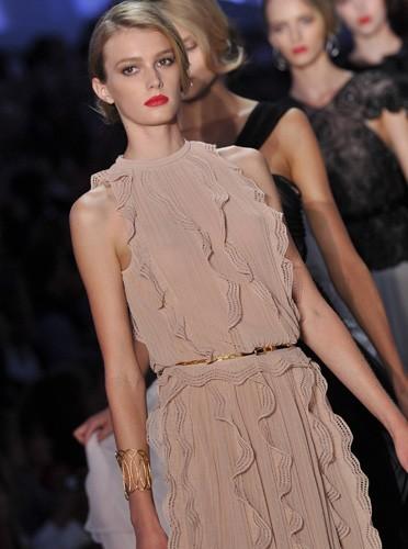 Les mannequins Dior