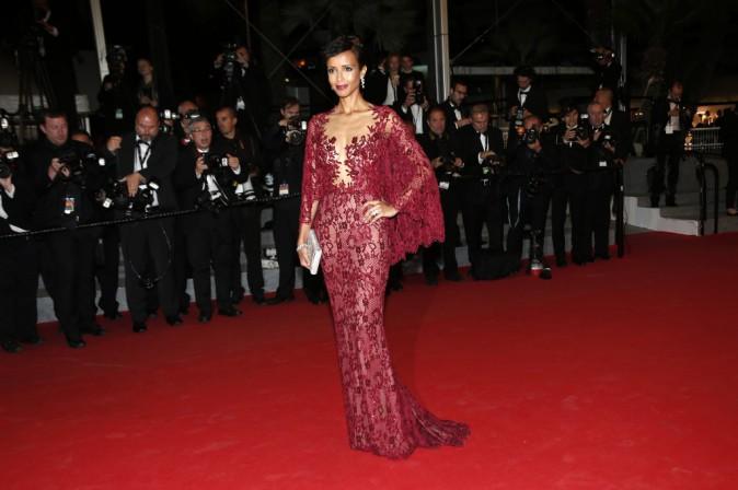 Cannes 2014 : Sonia Rolland : d�esse sur tapis rouge pour la projection du premier coup de coeur cin� de la presse,