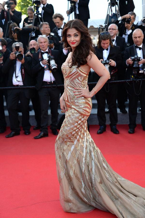 Aishwarya Rai à Cannes le 20 mai 2014